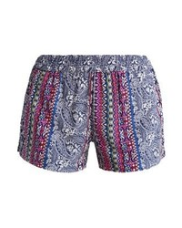 Pantalones cortos de paisley celestes de Jdy
