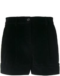 Pantalones cortos de pana negros de P.A.R.O.S.H.