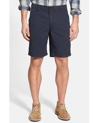 Pantalones cortos de rayas verticales azul marino