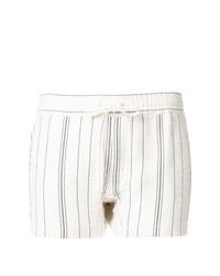 Pantalones cortos de rayas verticales blancos de See by Chloe