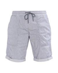Pantalones Cortos de Rayas Verticales Celestes de Opus