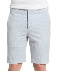 Pantalones Cortos de Rayas Verticales
