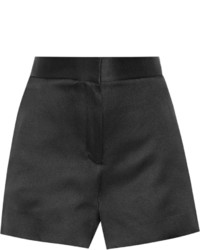 Pantalones Cortos de Satén Negros de The Row