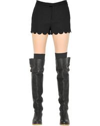 Pantalones cortos de satén
