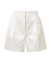 Pantalones cortos de seda blancos de Gabriela Hearst