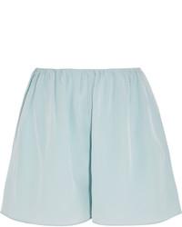 Pantalones cortos de seda celestes de Elizabeth and James