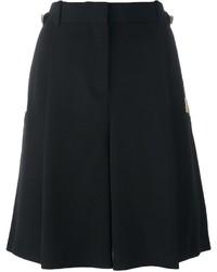 Pantalones Cortos de Seda Negros de Givenchy