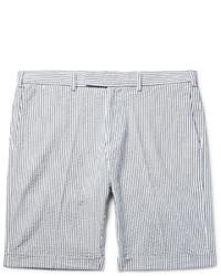 Pantalones Cortos de Seersucker Grises de Gant