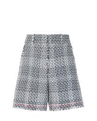Pantalones cortos de tweed grises de Thom Browne