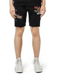 Pantalones cortos desgastados