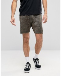 Pantalones cortos dorados de Asos