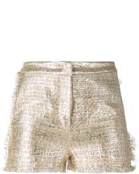 Pantalones Cortos Dorados de Gianluca Capannolo