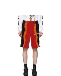 Pantalones cortos efecto teñido anudado en multicolor de Palm Angels