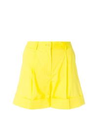 Pantalones cortos en amarillo verdoso de P.A.R.O.S.H.