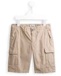 Pantalones cortos en beige de Armani Junior