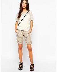 Pantalones cortos en beige de Esprit