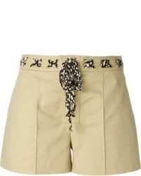 Pantalones cortos en beige de MICHAEL Michael Kors