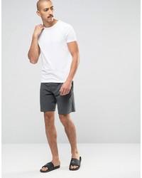 Pantalones cortos en gris oscuro de Lacoste