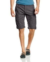Pantalones cortos en gris oscuro de Tom Tailor