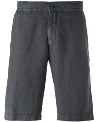 Pantalones cortos en gris oscuro de Z Zegna