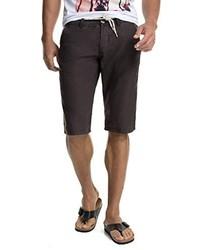 Pantalones cortos en marrón oscuro de Esprit