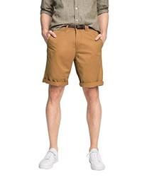 Pantalones cortos en tabaco de Esprit