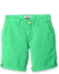 Pantalones cortos en verde menta de Tommy Hilfiger