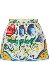 Pantalones Cortos Estampados Amarillos de Dolce & Gabbana