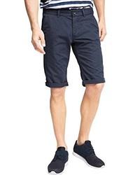 Pantalones cortos estampados azul marino de edc by Esprit
