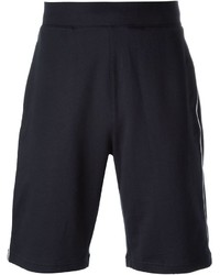 Pantalones cortos estampados azul marino de Emporio Armani