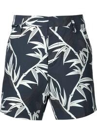 Pantalones cortos estampados azul marino de Marc Jacobs