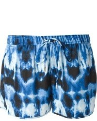 Pantalones cortos estampados azul marino de MICHAEL Michael Kors