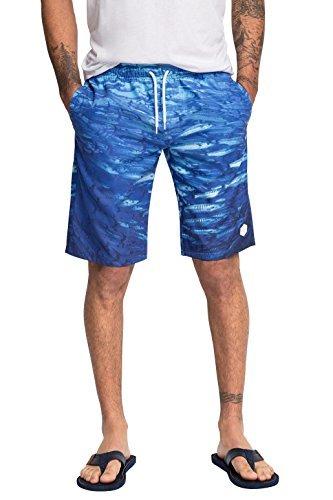 Esprit Cortos Estampados By Pantalones De Edc Azules eHI9WEYD2