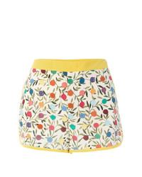 Pantalones cortos estampados blancos de RED Valentino