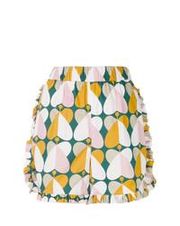 Pantalones cortos estampados en multicolor de La Doublej