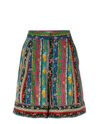Pantalones cortos estampados en multicolor de Philosophy di Lorenzo Serafini