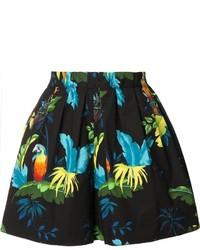 Pantalones cortos estampados negros de Marc Jacobs