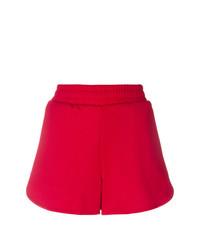 Pantalones cortos estampados rojos de MSGM