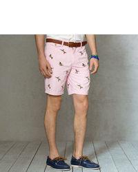 Pantalones cortos estampados rosados