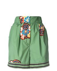 Pantalones cortos estampados verdes de Philosophy di Lorenzo Serafini