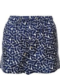 Pantalones Cortos Geométricos