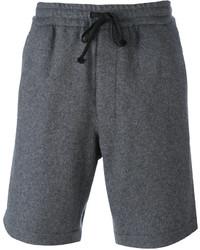 Pantalones Cortos Gris Oscuro de AMI Alexandre Mattiussi