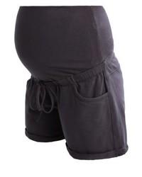 Pantalones Cortos Gris Oscuro de Queen Mum