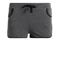Pantalones Cortos Gris Oscuro de TWINTIP