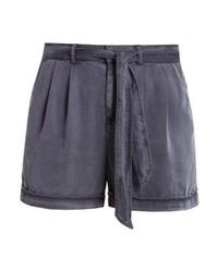 Pantalones Cortos Gris Oscuro de Vero Moda