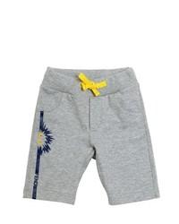 Pantalones cortos grises
