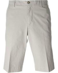 Pantalones cortos grises de Canali