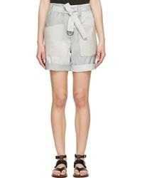 Pantalones cortos grises de Isabel Marant