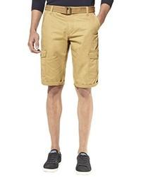 Pantalones cortos marrón claro de Celio