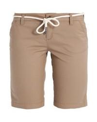 Pantalones Cortos Marrón Claro de Only
